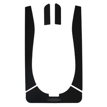 HYDRO-TURFデッキマットキット(テープ付き)SD XP(97-04) 5PCS Cut Groove Black※海外取り寄せ(納期:通常2~4週間)※代引き不可※キャンセル不可