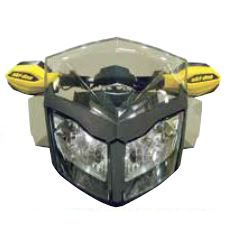 2020 ski-doo/スキードゥLOW WINDSHIELD AND SIDE DEFLECTOR KITREV-XP
