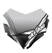 【ski-doo】HIGH WINDSHIELDREV-XR, REV-XU