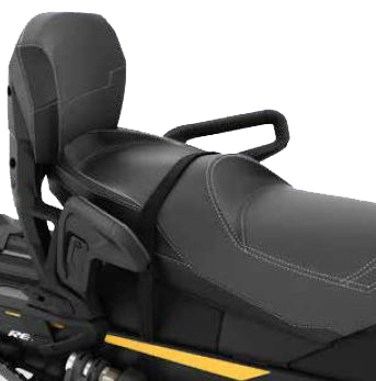 【ski-doo】1+1 COMPLETE SEAT SYSTEMREV-XM, REV-XS, REV-XP & REV-XR (except GTX, Grand Touring),REV-XU Tundra, (2008 and up)
