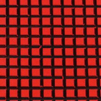 HYDRO-TURFツートン汎用トラクションマット(テープ付き)カットワッフルRED/BLACK※キャンセル不可※代引き不可※納期が約1ヵ月かかります