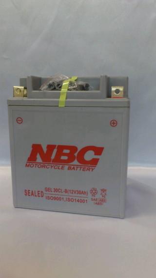 NBC GELバッテリー 30CL-B (23151015 )