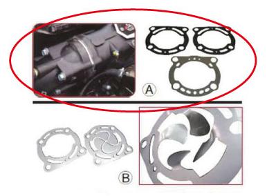 R&D製 エキゾーストレースプレート ULTRA300X「A」が商品になります。※特別送料