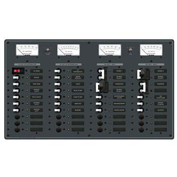 AC/DCサーキットブレーカー付スイッチパネル 8086