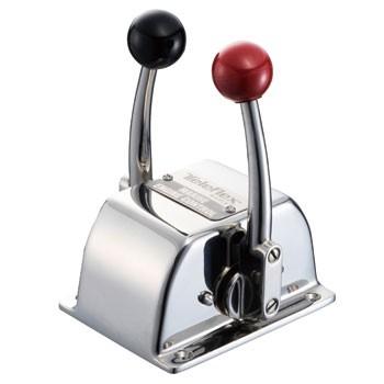 TELEFLEX(テレフレックス) TWIN-S コントロールボックスクラッチ&スロットル(赤・黒)   031001-001