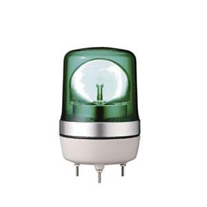 小型LED回転灯 PKL-106 グリーン/24V