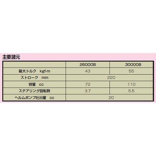 MORSE コマンド油圧ステアリング26000B※メーカー取り寄せ商品※納期:メーカー確認後連絡