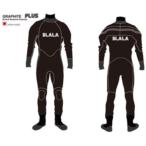 BLALA(ブラーラ)◆ネオプレーンドライスーツ◆GRAPHITE PLUSシリーズグラファイトジャージ(ブーツ付き) 生地厚:5×3mmメンズ レディースサイズオーダー可