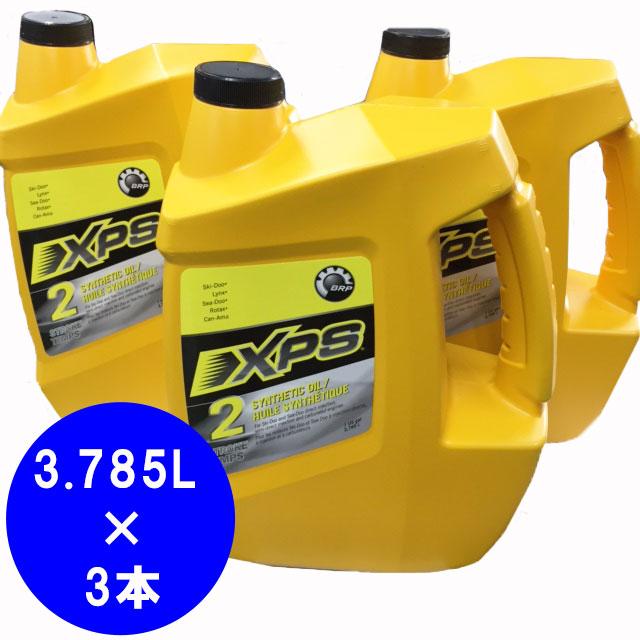 【大幅値下】BRP ski-doo XP-S 2スト シンセティックオイル 3.785L  1ケース(3本入り)※パッケージ変更・品番変更#779127c