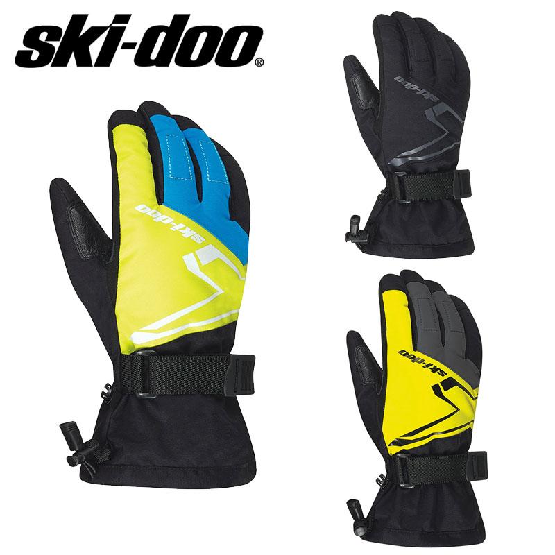 2020 新作 訳あり 2020 ski-doo GLOVESグローブ スキードゥSNO-X
