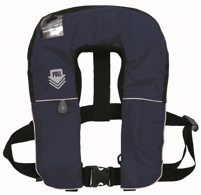 救命胴衣(ライフジャケット)FN-80・自動膨張機能付き(新基準対応品)ブルー