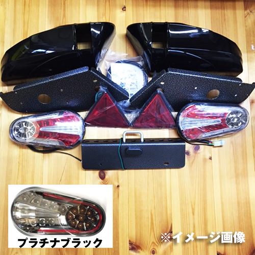TIGHT JAPAN(タイトジャパン)レイズ テールランプキット(プラチナブラック&ブラック)