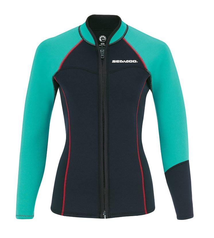 【2019 SEA-DOO Wetsuit】 Ladies' 3 mm Montego Jacketレディース ネオプレン ジャケット