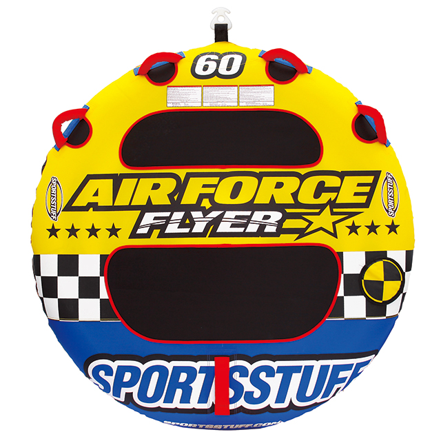 SPORTSSTUFF(スポーツスタッフ) FLYER AIR FORCE 60 1人乗り 【トーイング チューブ】