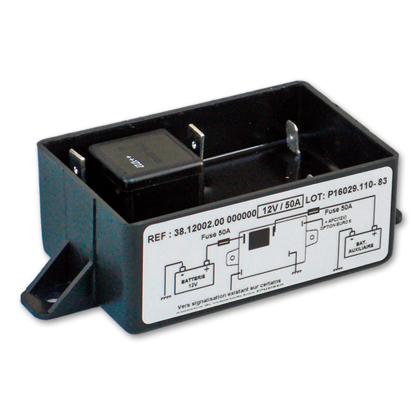 バッテリーセパレーター300AH以下充電分配器