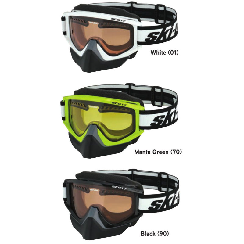 2018 ski-doo/スキードゥHoleshot Goggle By Scottゴーグル