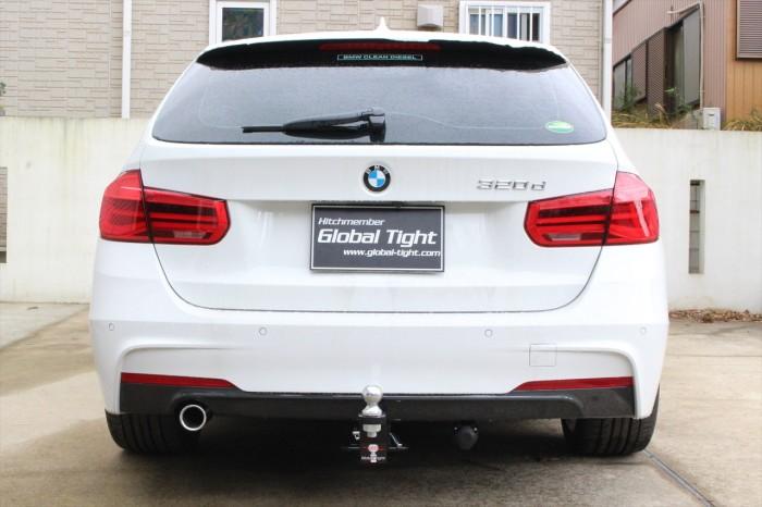 Global Tight(グローバルタイト)BMW 320用 ヒッチメンバー※代引き不可※送料6380円※北海道・四国・九州は7480円