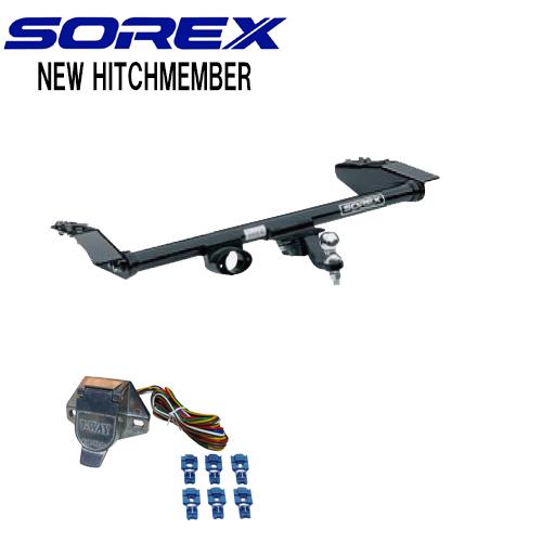 SOREX (ソレックス)プリウスNEWスチール ヒッチメンバー ※個人宅送料:3630円~