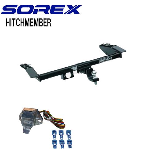 SOREX (ソレックス)アクティ角型スチール ヒッチメンバー ※個人宅送料:3630円~