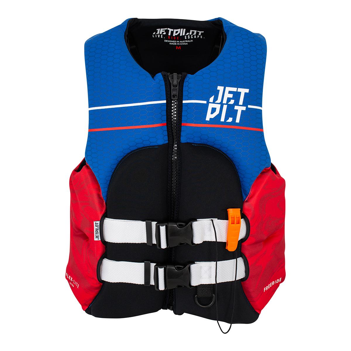JETPILOT(ジェットパイロット)2021モデルFREERIDE F/E NEO CGA VEST(RED)ライフジャケット-JCI予備検査承認#JA21113CGA