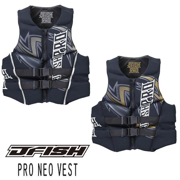 J-FISH/ジェイ-フィッシュ2018モデルPRO NEO VESTライフベスト【セール品*キャンセル・返品 不可】