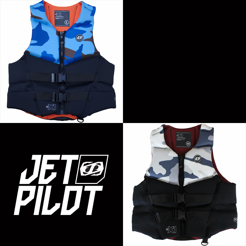 JETPILOT(ジェットパイロット)2018モデルX1 JAPAN LIMITED NEO VESTメンズ ライフジャケット