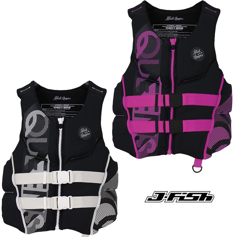 J-FISH/ジェイ-フィッシュ2019モデルQUEENS NEO VESTライフベストレディース【JCI予備検査承認】