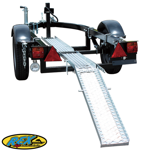 REX-JBTB2輪車牽引専用 トレーラー※代引き不可※特別送料