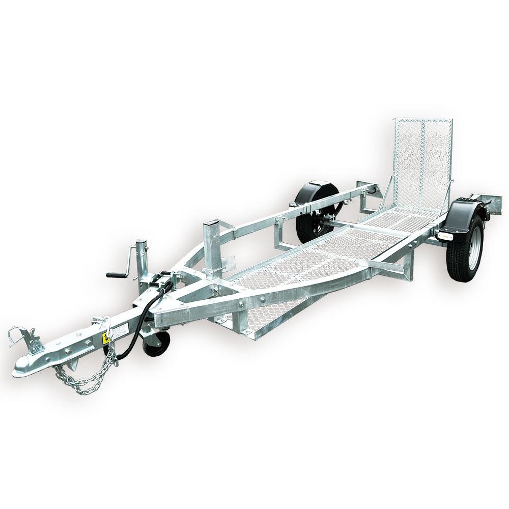 REX-JBTBF2輪車牽引専用 トレーラー(小型規格)バイクトレーラー※代引き不可 ※特別送料