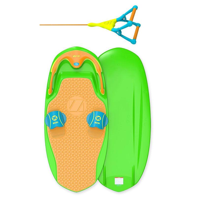 ZUP BOARD2 /ザップボード2 【ボード+ハンドルロープ 】2点セット 緑/オレンジ※特別送料