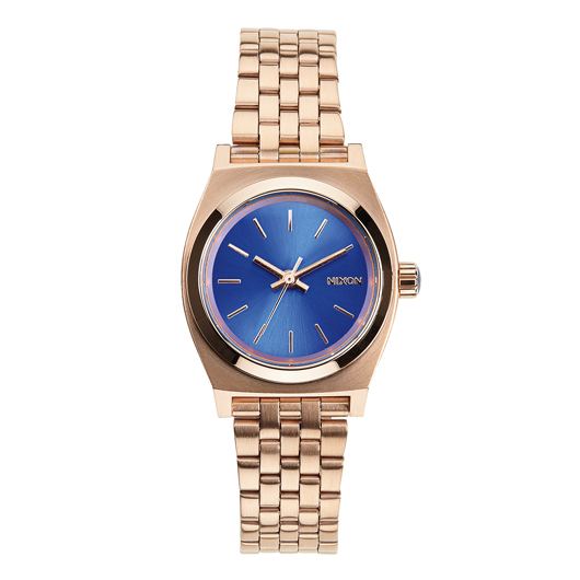 NIXON ニクソン腕時計 SMALL TIME TELLER ROSE GOLD COBALT NA3991748-00 レディース