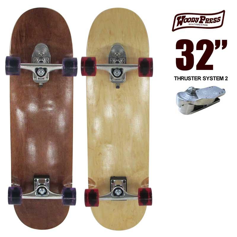 ポイント最大28倍!4/16(火)01:59まで ウッディプレス スケートボード WOODY PRESS WOODY32インチ SK8 サーフスケート サーフィン