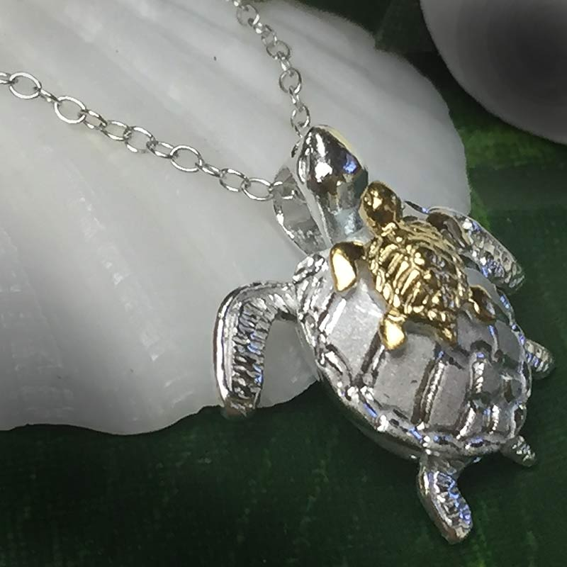 Shirahama mariner rakuten global market hawaiian jewelry silver sea honu to be happy and have a family too poor head behind honu silver 925 stamped the cuteness day since i received a simple silver chain 40 cm have aloadofball Choice Image