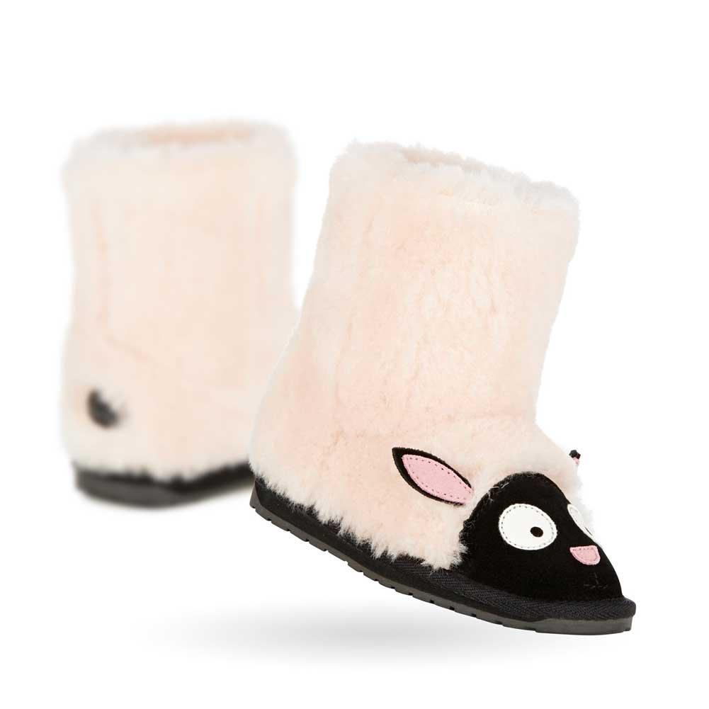 f8ee4902f33 Mouton boots for the sheepskin boots / child for EMU AUSTRALIA KIDS LITTLE  CREATURES L.C LAMB K10648 lamb kids