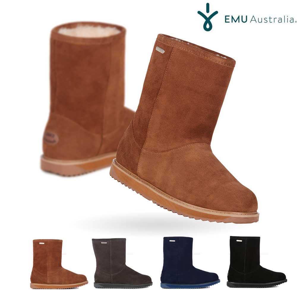 【ポイント最大36倍6/11(木)01:59まで】 EMU Australia エミュー Paterson Classic Lo パターソンクラシックロー ムートンブーツ スエードブーツ