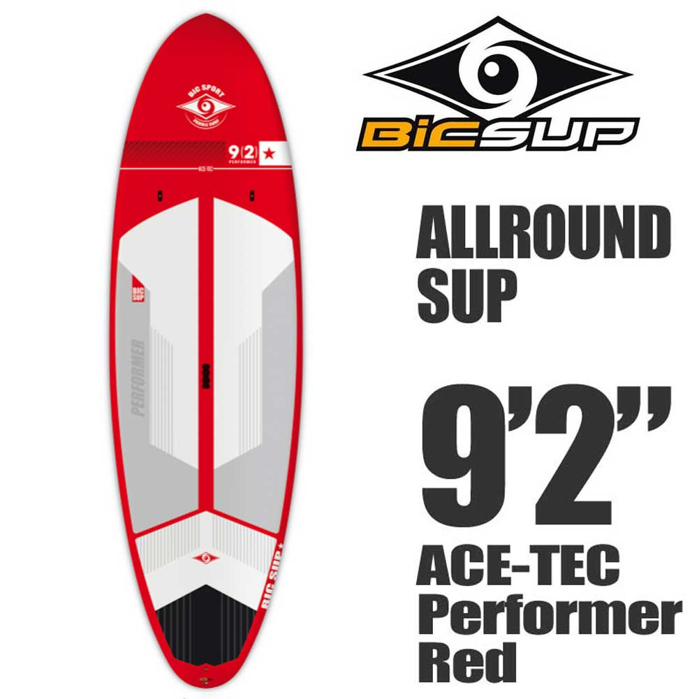 スタンドアップパドルボード ACE-TEC Performer 9'2  Red BICサーフボード/BIC SUP サップ