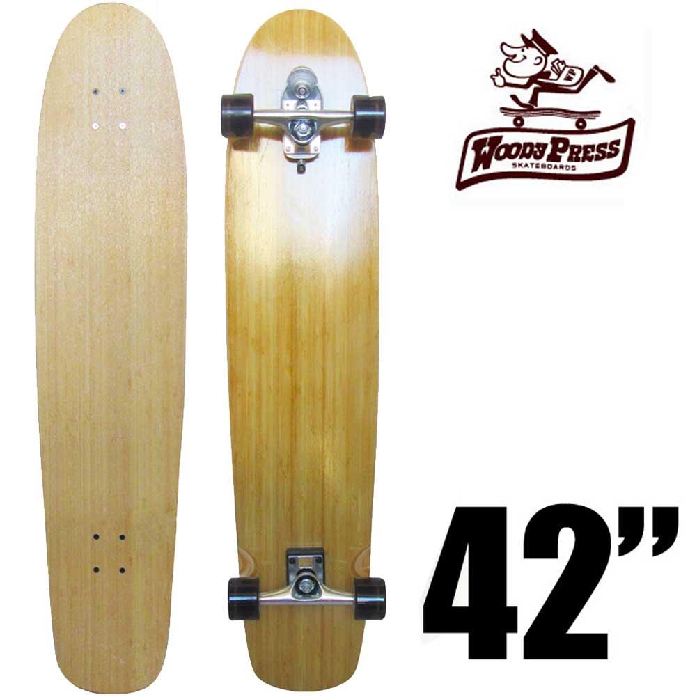 ウッディプレス スケートボード WOODY PRESS 42インチ TH2コンプリート スタンダードタイプ