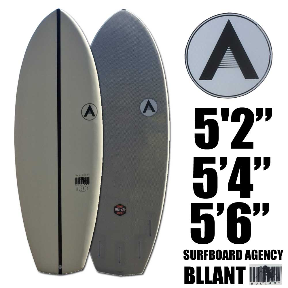 The Surfboard Agency BULLANT Softboardモデル サーフボードエージェンシー ブルアントソフトボード 5'2 / 5'4 / 5'6 /ソフトサーフボード【送料無料】