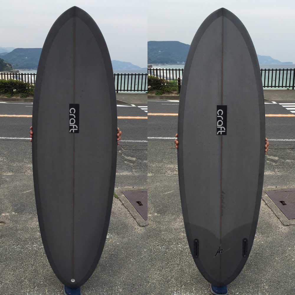 Shirahama Mariner  Short board Craft Pistachio 5  6