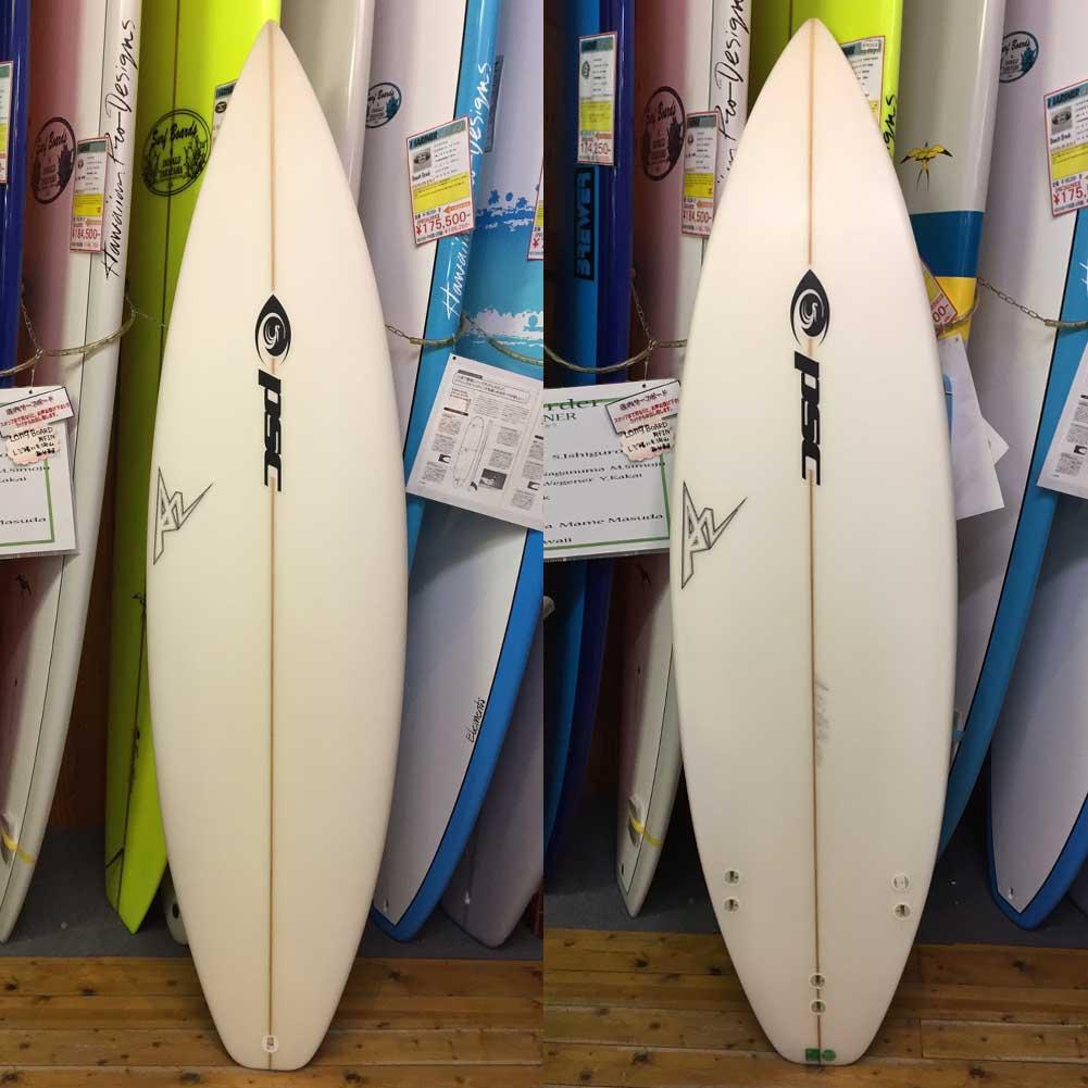【ポイント最大36倍6/11(木)01:59まで】 アウトレット PSC SURFBOARD ピーエスシー ショートボード 5'11