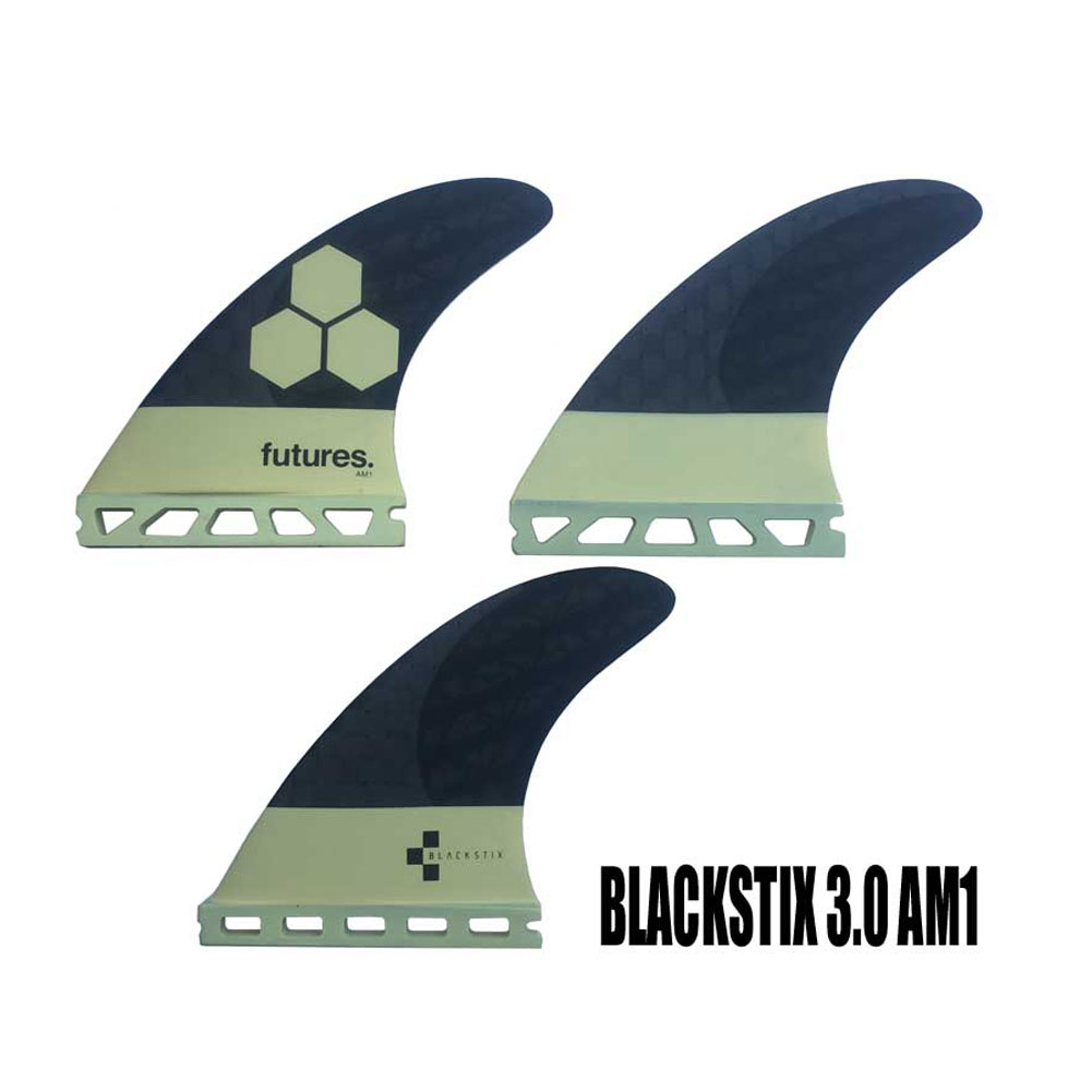 FUTURES FINS BLACKSTIX 3.0 AM1 3FIN/Futures. トライフィン フューチャーフィン  ショートボードフィン サーフィン【小型宅配便】【コンビニ受取対応商品】