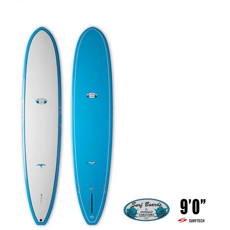 ロングボード サーフボード SURFTECH HAWAIIAN PRO DESIGNS ドナルドタカヤマ BEACH BREAK 9'0