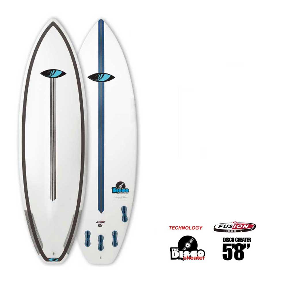 """ポイント最大28倍!4/16(火)01:59まで ショートボード SURFTECH SHARPEYE DISCO CHEATER 5'8"""" サーフテック シャープアイ ディスコチーター FCS 2 5FIN"""
