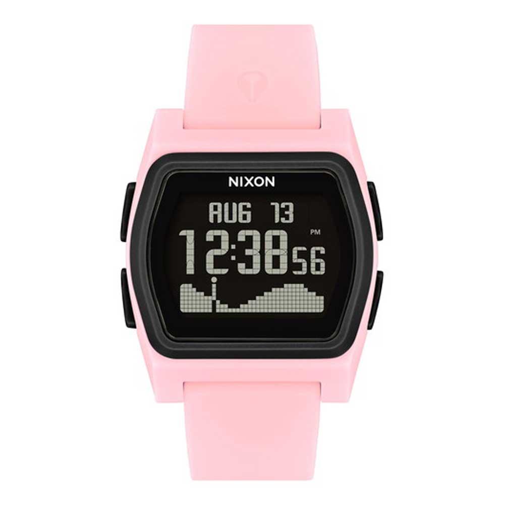 ポイント最大28倍!4/16(火)01:59まで NIXON 腕時計 THE RIVAL PINKBLACK ニクソン ライバル ピンクブラック