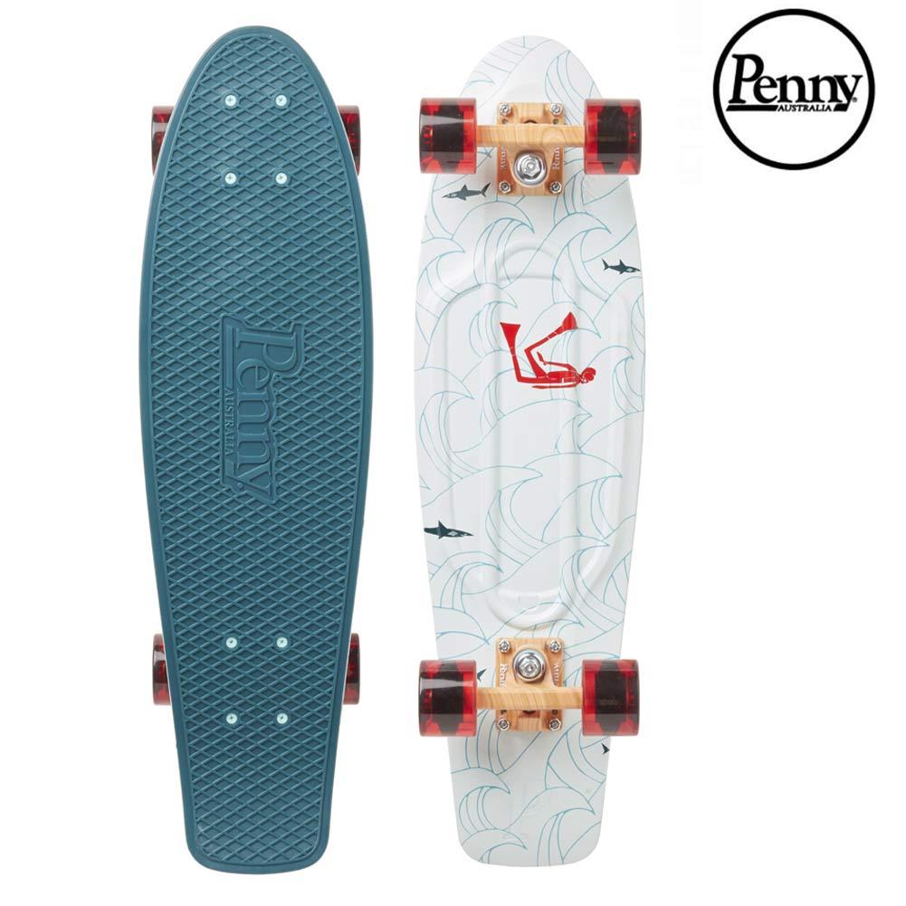ポイント最大28倍!4/16(火)01:59まで Penny Skateboards CAPS アンディ・デイビス コラボ 27inch ペニースケートボード Andy Davis スケボー