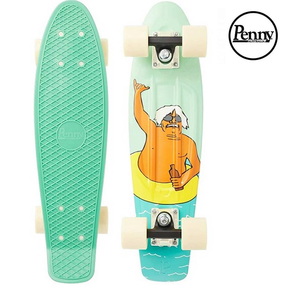 ポイント最大28倍!4/16(火)01:59まで Penny Skateboards CHUCK SHAKA アンディ・デイビス コラボ 22inch ペニースケートボード Andy Davis スケボー