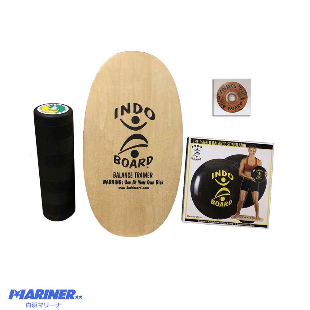 インドボードマルチセット インドフローにミニローラーが付いたお得な4点セット 体幹トレーニング バランスボード 人気商品