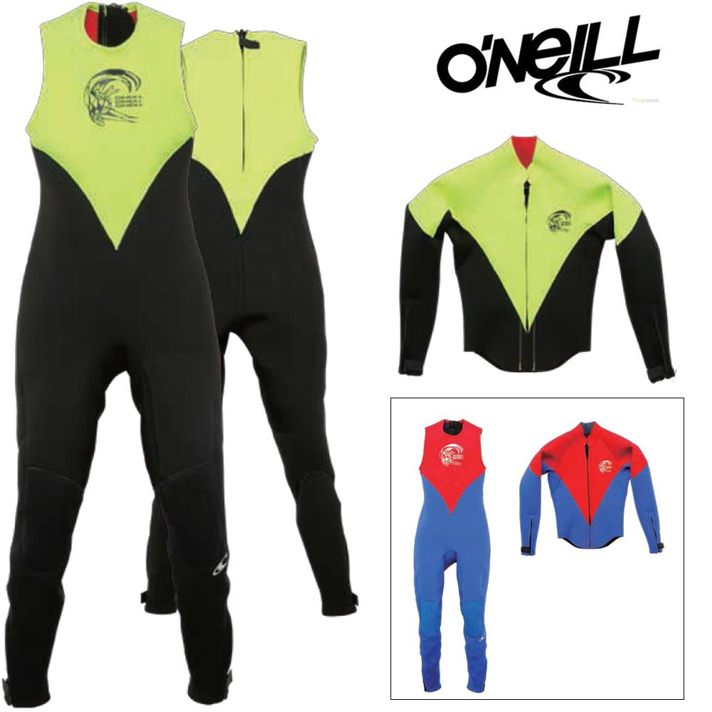 O'NEILL オニール子供用ウェットスーツ YOUTH ユース SUPERFREAK WF-5300/ロングジョン+LSジャケットセット【あす楽】