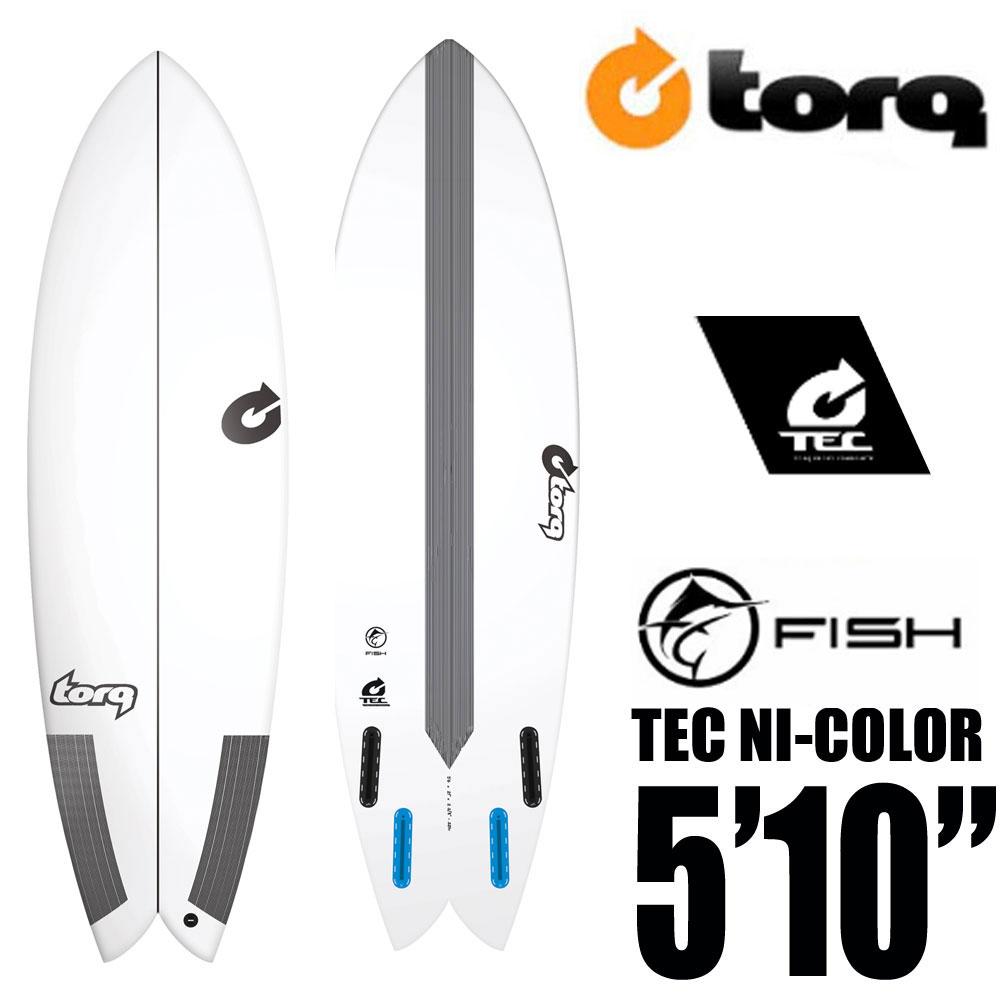 TORQ Surfboard トルクサーフボード TEC FISH 5'10 EPS/フィッシュ エポキシ ショートボード【送料無料】