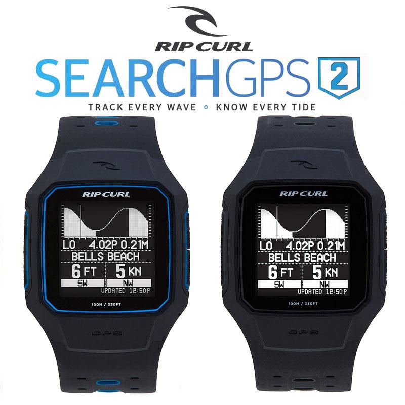 ポイント最大28倍!4/16(火)01:59まで RIPCURL リップカール SERACH GPS2 サーチジーピーエスツー 腕時計 防水サーフウォッチ